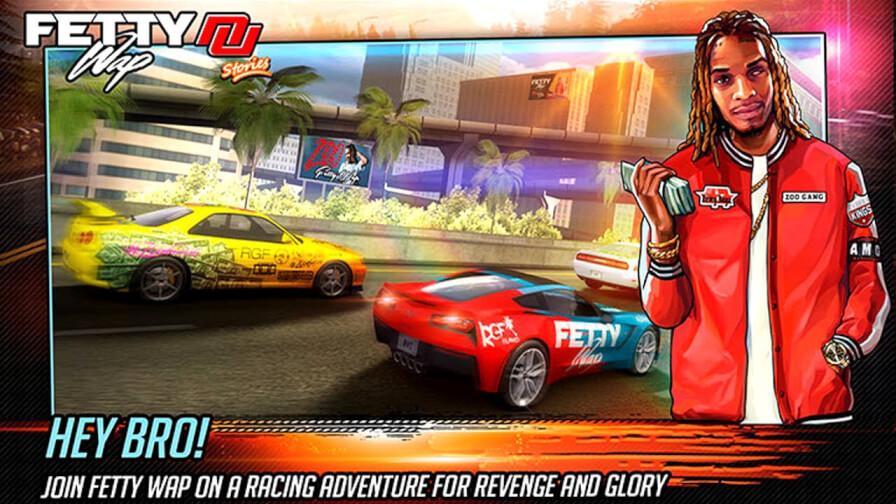 Fetty Wap's Nitro nation Racing
